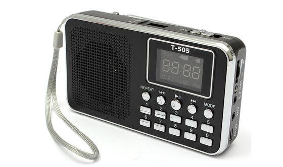 デジタルチューニングラジオ