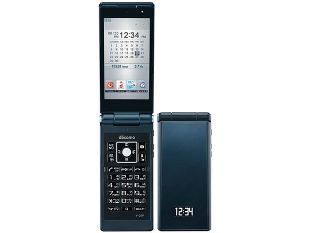富士通 携帯電話 F-07F