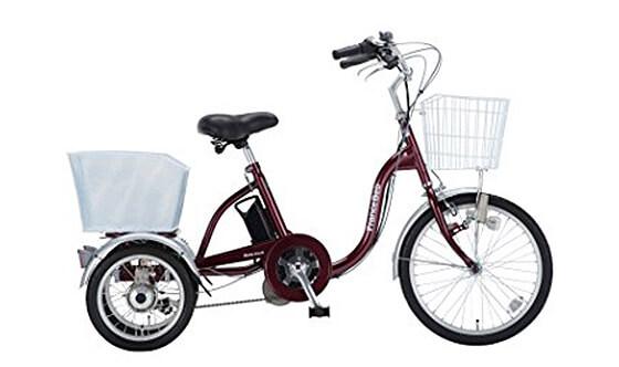 フランスベッド 電動アシスト三輪自転車