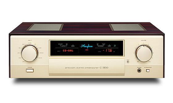 AACUPHASEのプリアンプのC-3850