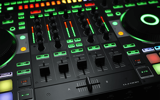 DJ-808 ミキサー