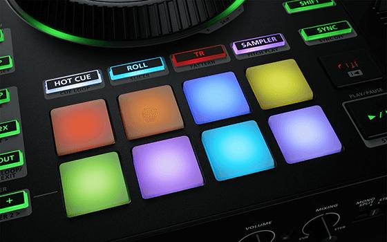 DJ-808 パッド