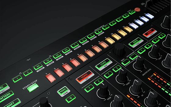 DJ-808 ステップシーケンサー