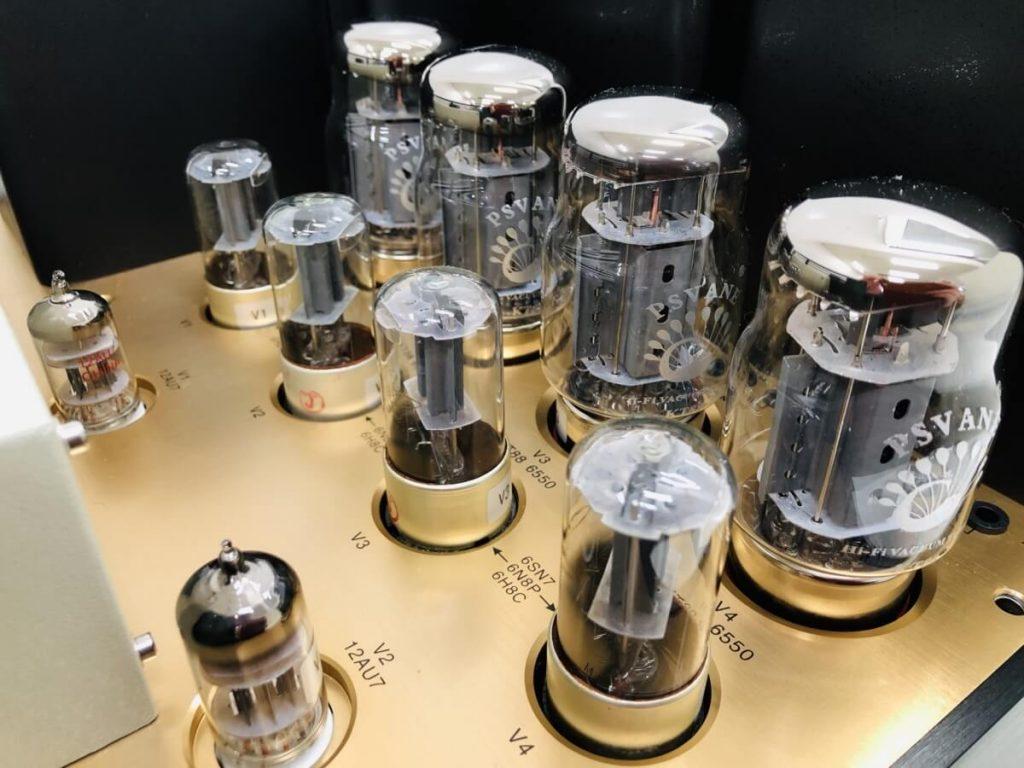 Concert Master ASC-200BPSの真空管の画像