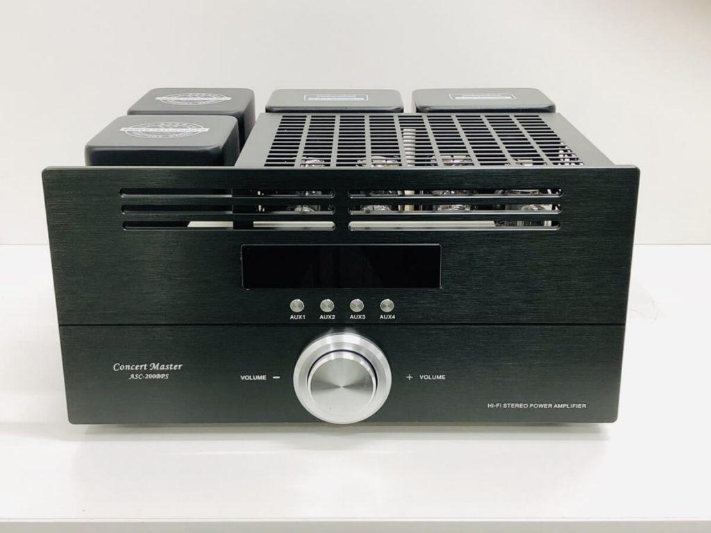 真空管プリメインアンプ Concert Master ASC-200BPS