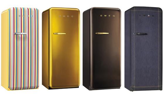 SMEGのFAB28R、特別色の冷蔵庫