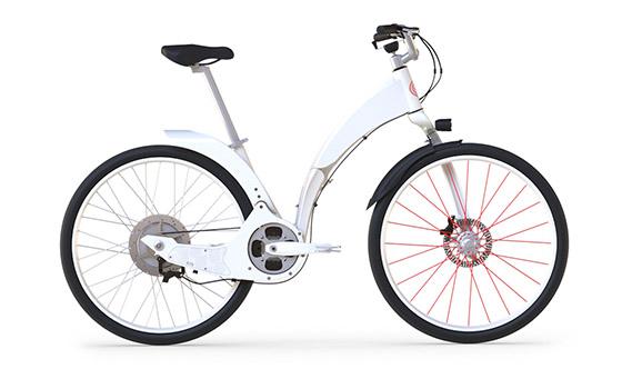 Gi FlyBike 折りたたみ電動自転車