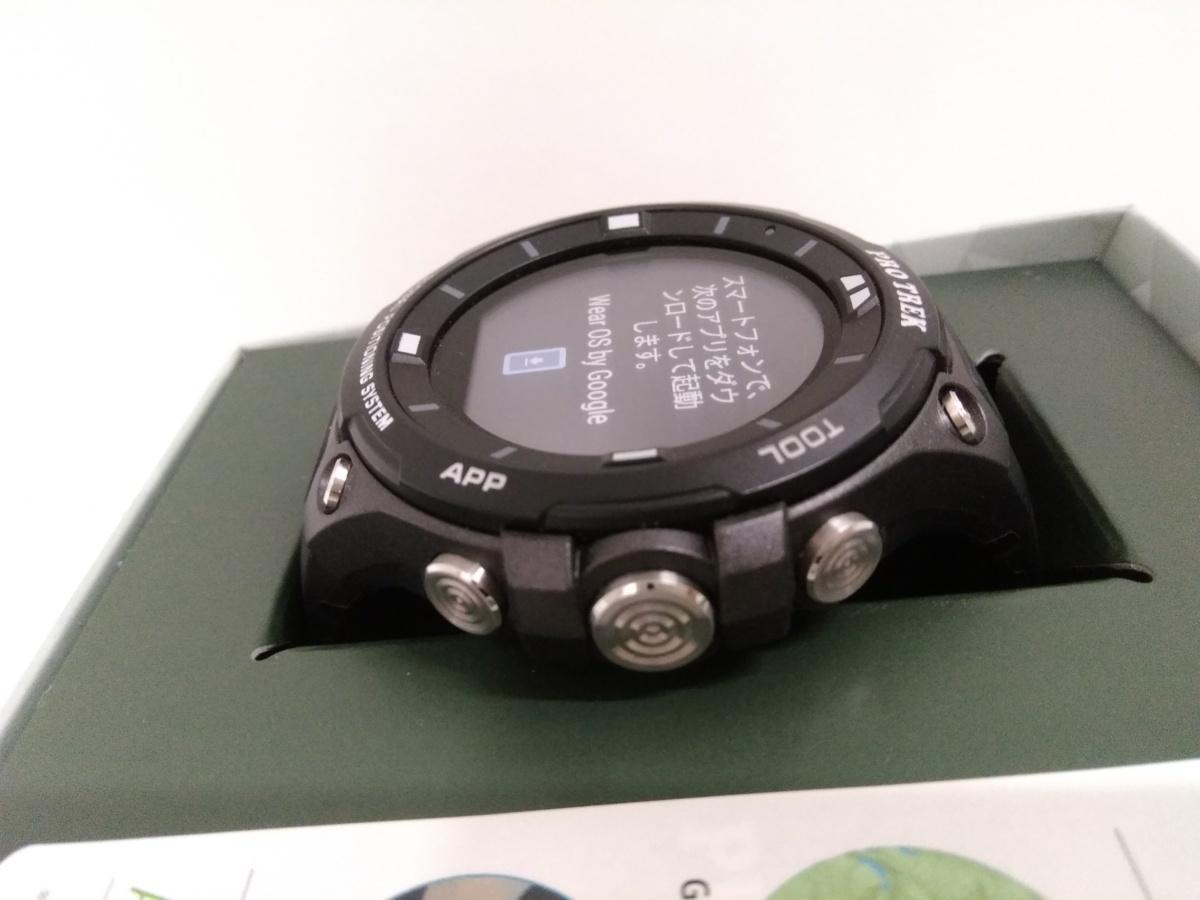 PROTREKのスマートアウトドアウォッチのWSD-F20-BK