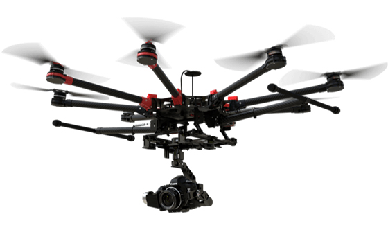 DJIの空中撮影UAVのspreading-wings-s1000+