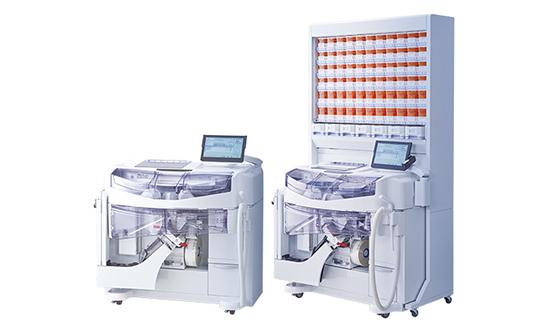 湯山製作所の散薬分包機