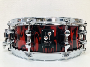sonor prolite series red tribal 14×5 - side