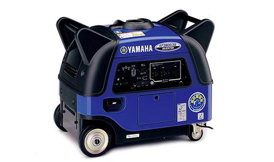 ヤマハの防音型インバータ発電機