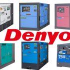デンヨーの発電機のイメージ