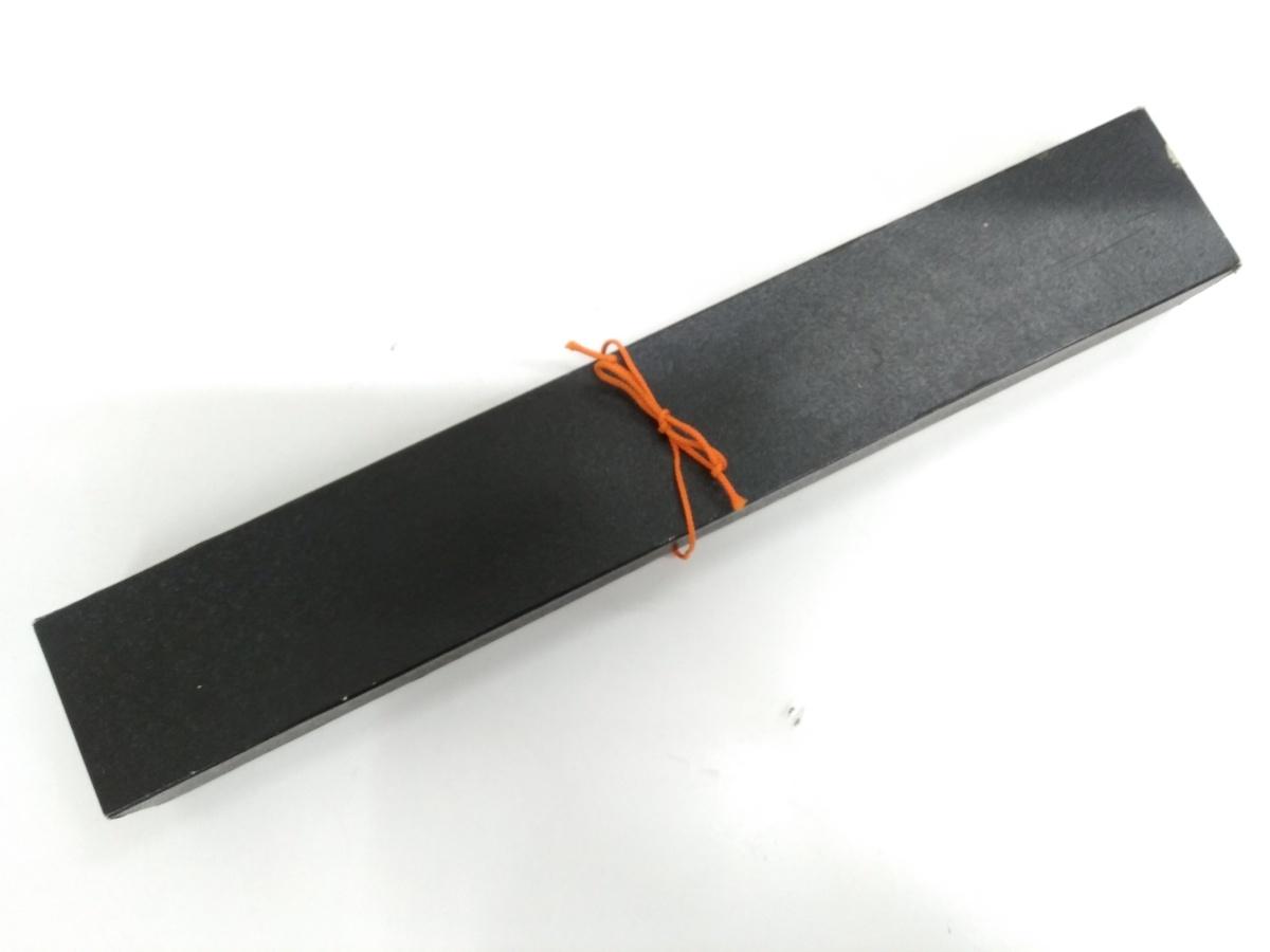 佐治武士のナイフの元箱
